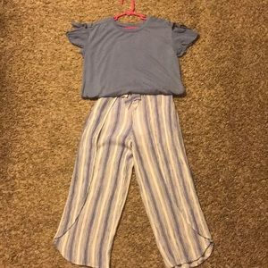 Girls pant/blouse outfit